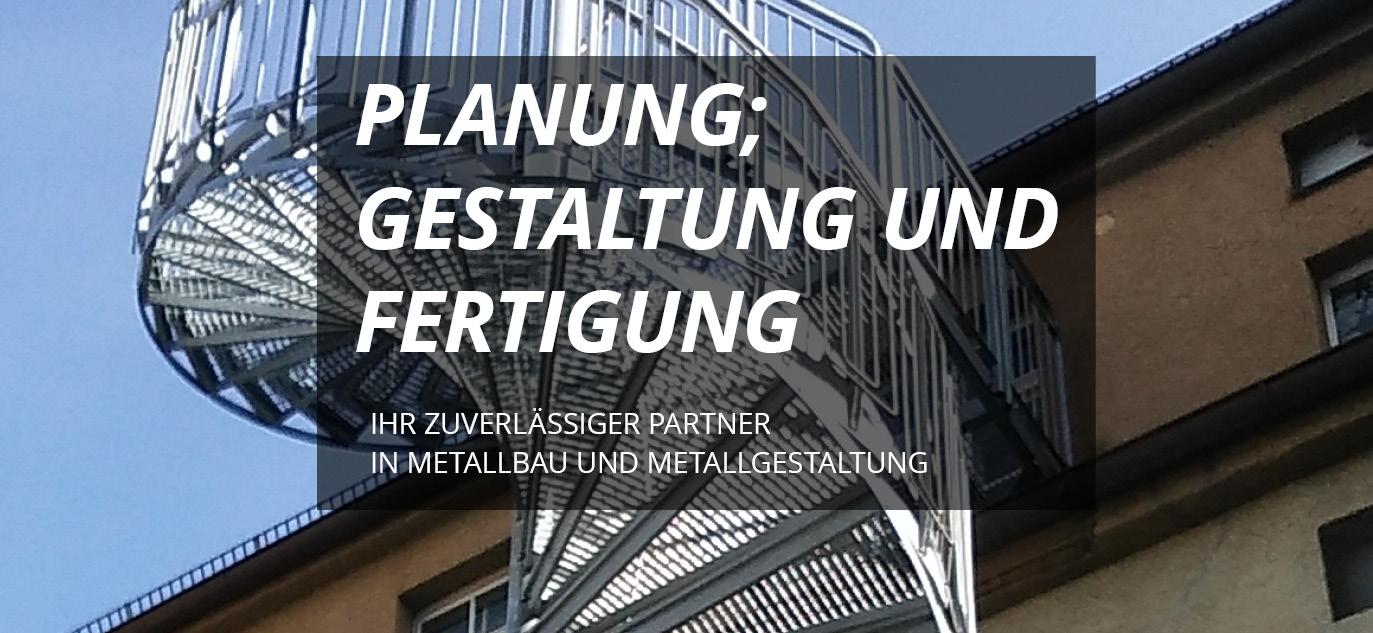 Zuverlässiger Partner in Metallbau und Metallgestaltung - Naber und Steiner